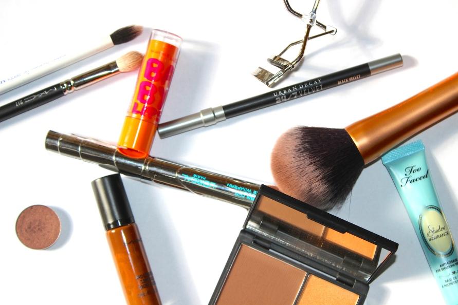 Dagelijkse make up routine