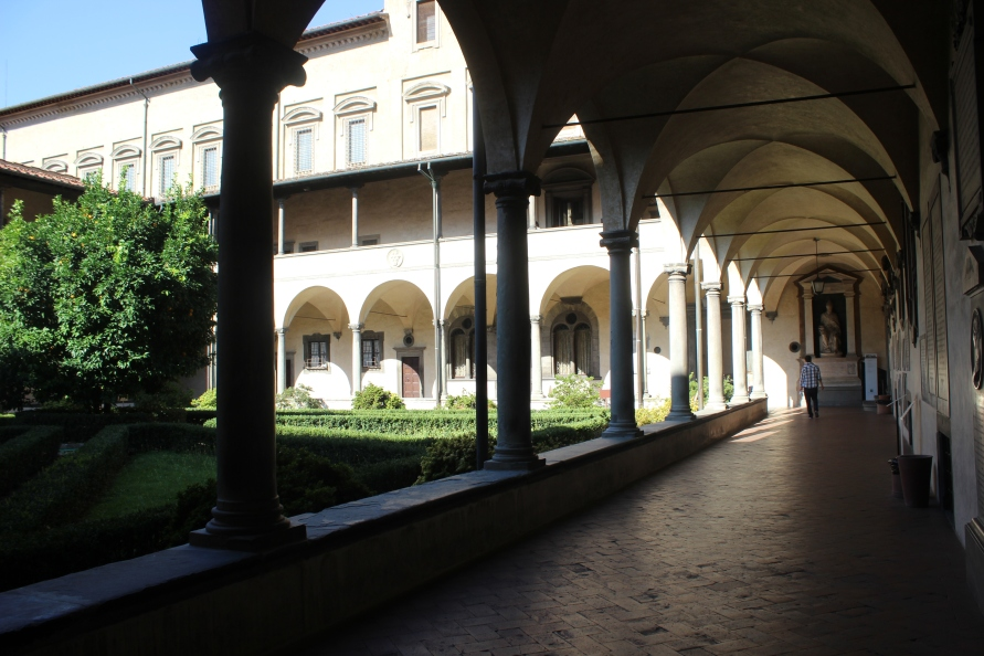 Zuilengalerij in San Lorenzo