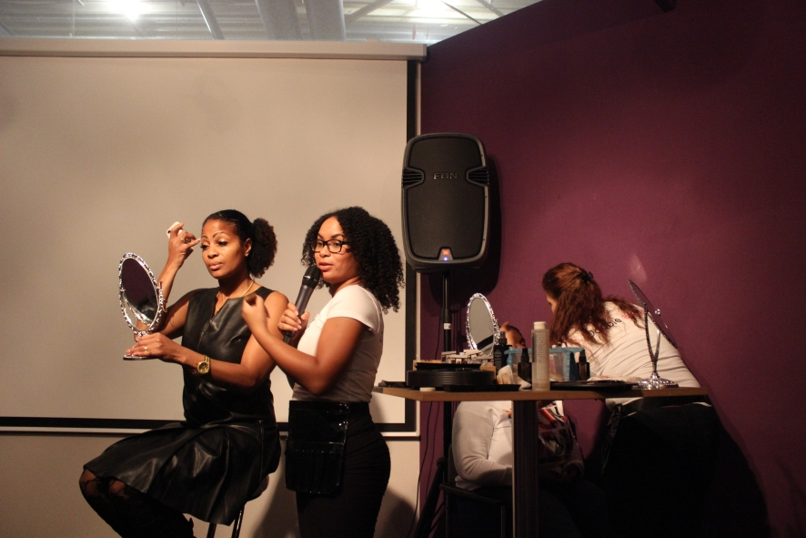 Pearl Your Lifestyle Event Double Beauty workshop