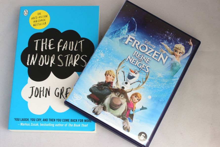 5 Reasons why I smile tag Frozen, The Fault in Our Stars