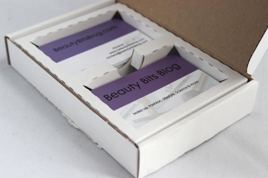 HEMA visitekaartjes BeautyBitsbBlog.com
