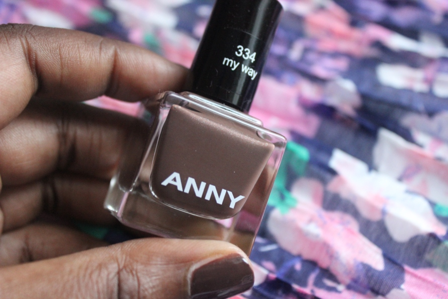Anny nagellak - My Way  | Review BeautyBitsBlog.com