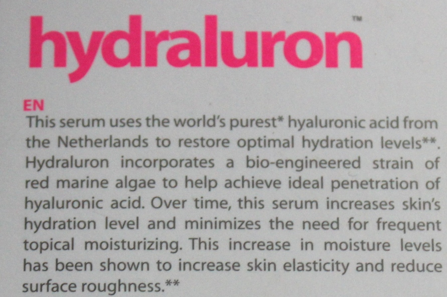 Indeed Labs Hydraluron Serum   Review BeautyBitsBlog.com