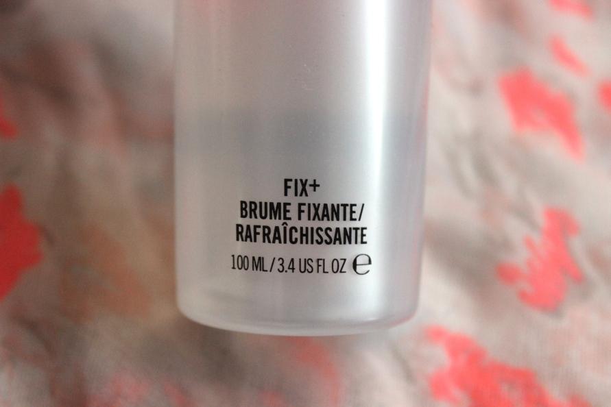 MAC Prep + Prime Fix+ | Review BeautyBitsBlog.com