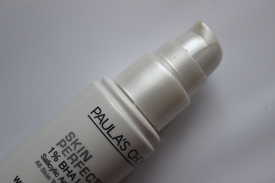 Paula's Choice Skin Perfecting Lotion 1% BHA Lotion | Review BeautyBitsBlog.com
