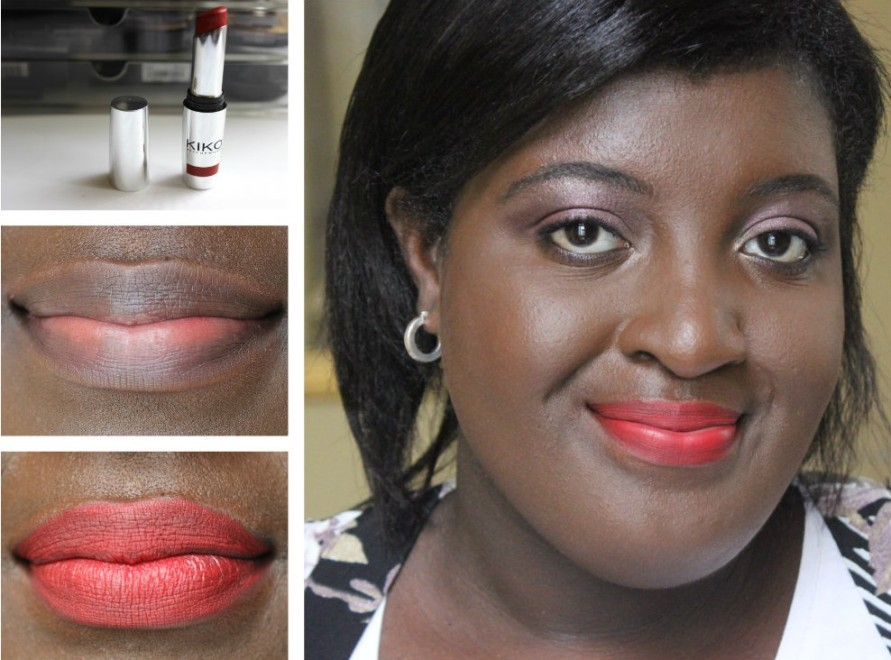 Kiko Lipstick Unlimited Stylo - 07 Cherry Red | Review BeautyBitsBlog.com