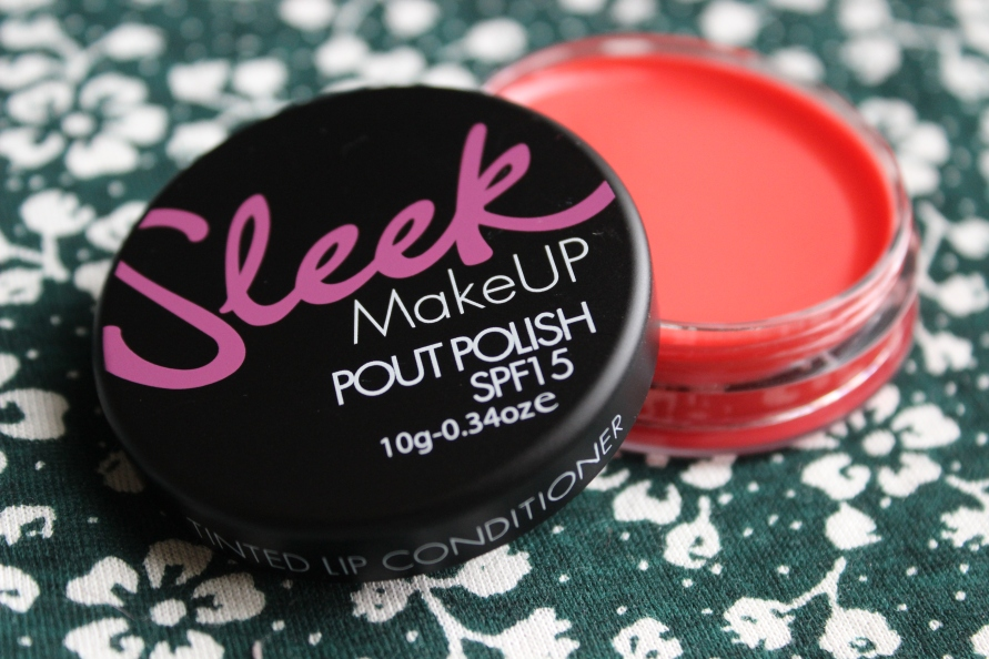 Sleek Pout Polish - Electric Peach | Review BeautyBitsBlog.com