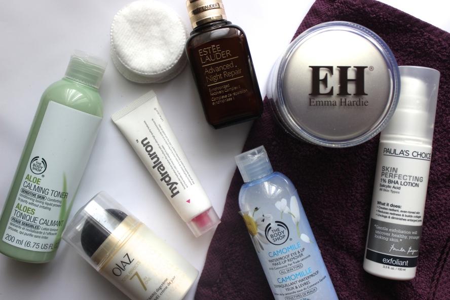 Huidverzorgingsroutine Maart 2015 BeautyBitsBlog.com