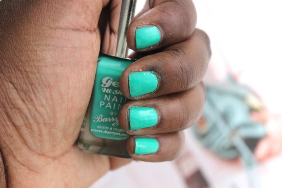 Barry M Gelly Hi Shine nagellak - Kiwi | Review BeautyBitsBlog.com