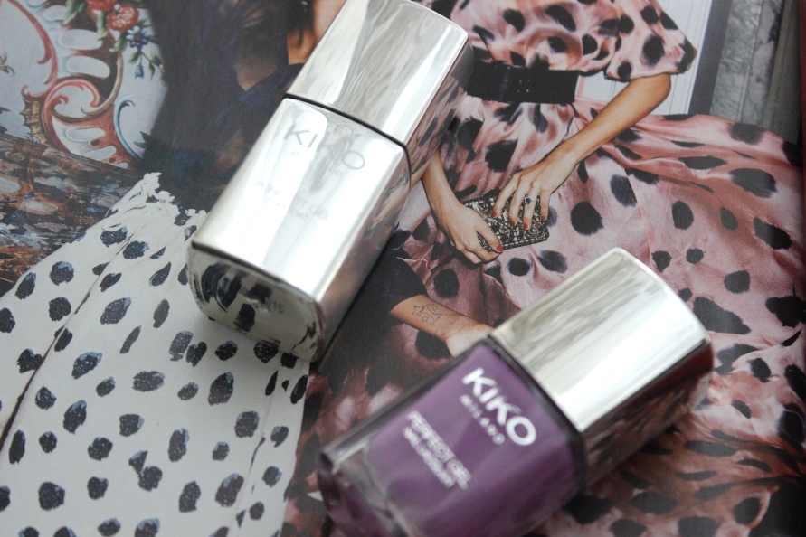 Kiko Perfect Gel Duo - Violet | Review BeautyBitsBlog.com