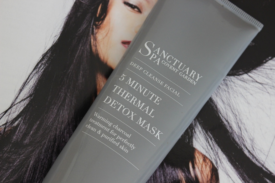 Sanctuary Spa Covent Garden 5 Minute Thermal Detox Mask | Review BeautyBitsBlog.com