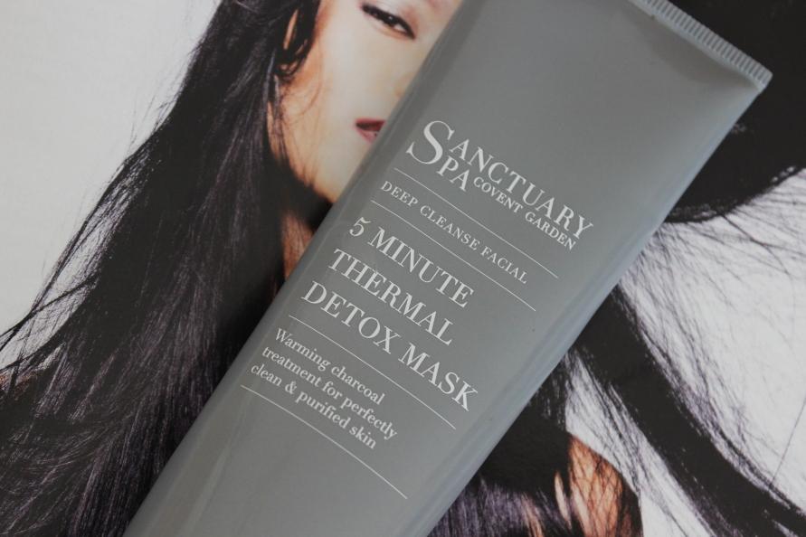 Sanctuary Spa Covent Garden 5 Minute Thermal Detox Mask | Review BeautyBitsBlog.com