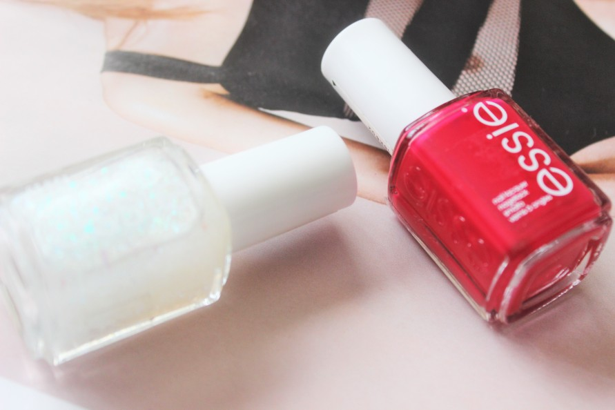 Nailed it! Essie - Exotic Liras & Sparkle on Top | BeautyBitsBlog.com