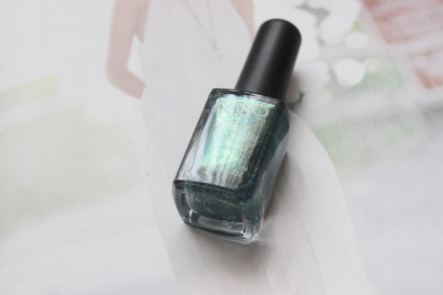Kiko nagellak - 532 Pearly Amazon Green | Review