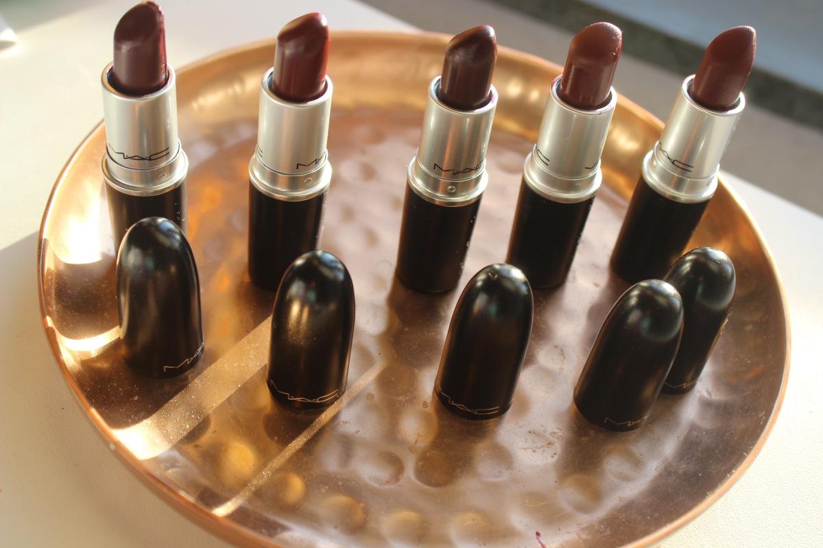Mijn 5 favoriete herfst MAC lipsticks