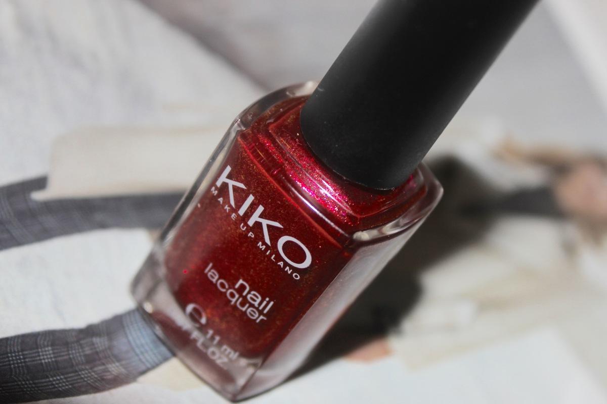 Kiko nagellak - 493 Vino Perlato | Review