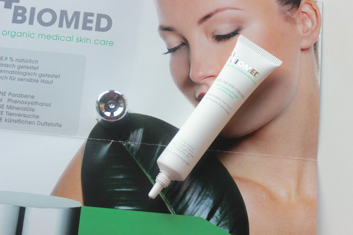 Biomed First Aid Eye Cream | Review
