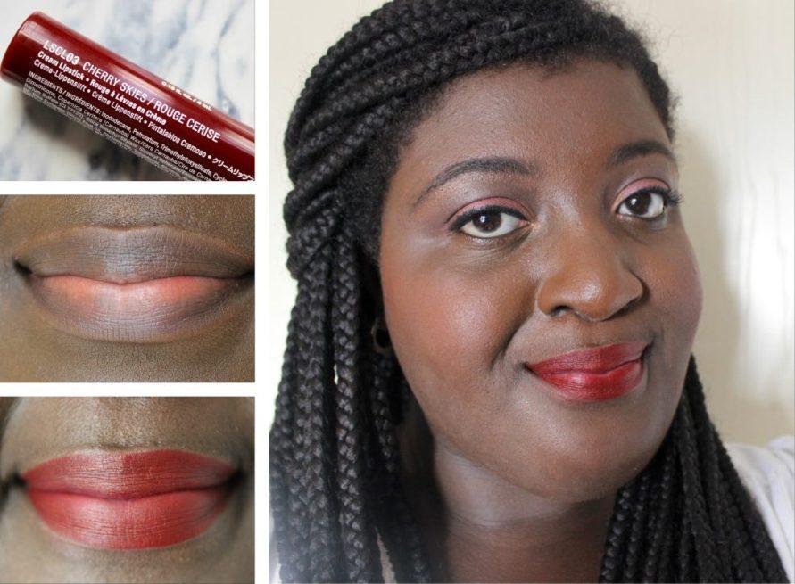 NYX Liquid Suede - Cherry Skies 10   Review   BeautyBitsBlog.com